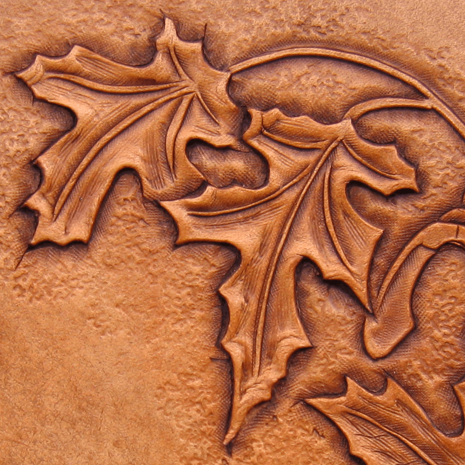 Leather Carved Folios