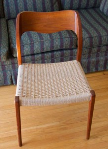 Chair completed